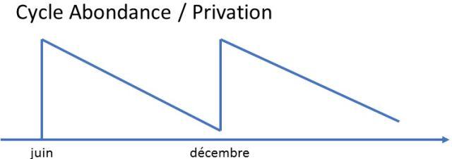 Cycle Abondance-Privation