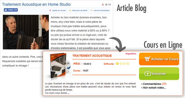 Exemple cours en ligne par abonnement