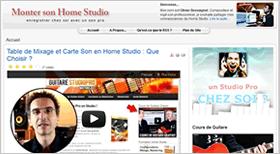 Monter son Home Studio Blog: astuces pour faire de la musique chez soi