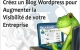 Créez un Blog Wordpress pour votre Entreprise