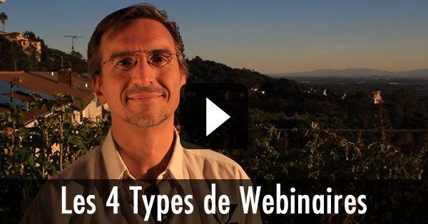 Les 4 Types de Webinaires