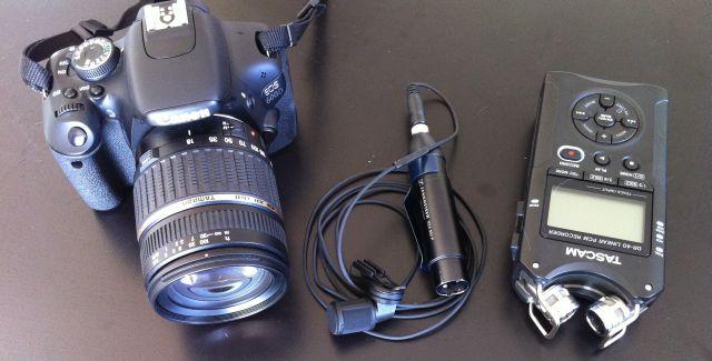 Materiel Video Marketing Portable